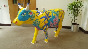 Surrey Hills Cow Parade Watermoo