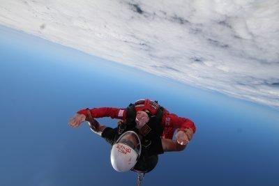 charity parachute jump